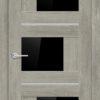 Межкомнатная дверь ПВХ S 51 дуб графит 2
