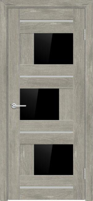 Межкомнатная дверь ПВХ S 5 дуб седой 3