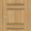 Межкомнатная дверь ПВХ S 21 дуб дымчатый 1