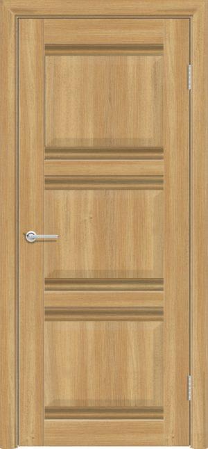 Межкомнатная дверь ПВХ S 50 лиственница золотистая 1