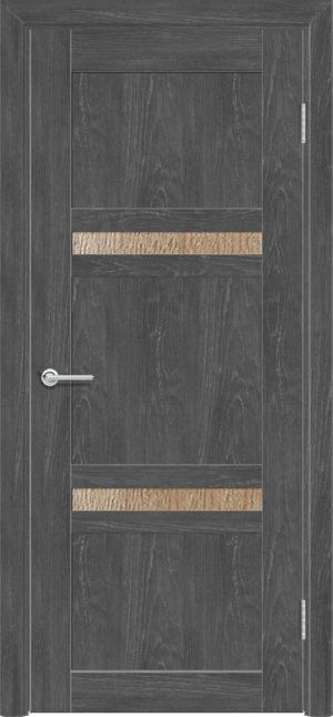 Межкомнатная дверь ПВХ S 51 дуб графит 3