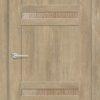 Межкомнатная дверь ПВХ S 15 дуб седой 1