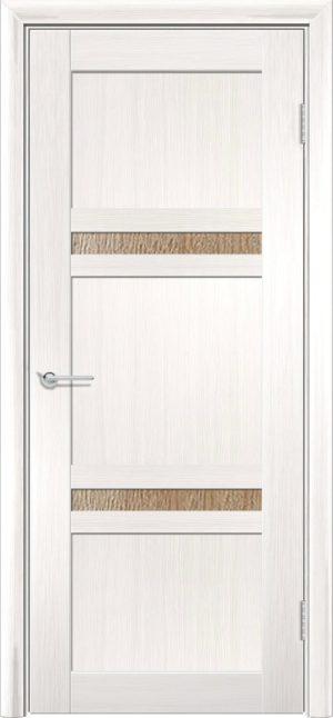 Межкомнатная дверь ПВХ S 51 лиственница беленая 3