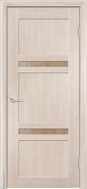 Межкомнатная дверь ПВХ S 51 лиственница кремовая 3