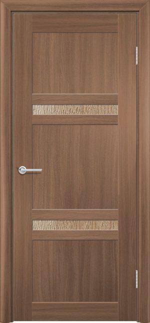 Межкомнатная дверь ПВХ S 51 орех королевский 3