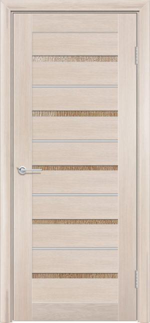 Межкомнатная дверь ПВХ S 53 лиственница кремовая 3