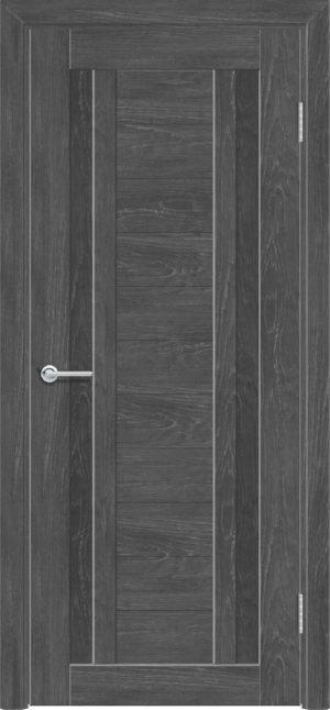 Межкомнатная дверь ПВХ S 6 дуб графит 3