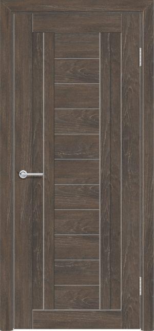 Межкомнатная дверь ПВХ S 6 дуб корица 2