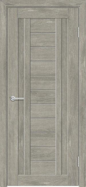 Межкомнатная дверь ПВХ S 6 дуб седой 3