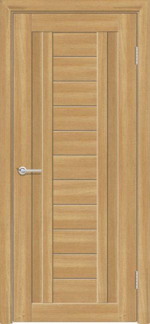 Межкомнатная дверь ПВХ S 6 лиственница золотистая 1