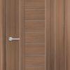 Межкомнатная дверь ПВХ S 27 орех королевский 2