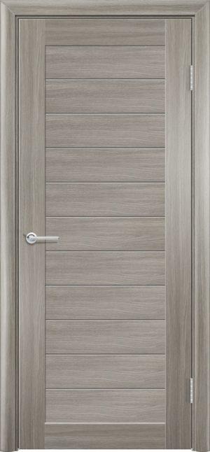 Межкомнатная дверь ПВХ S 7 дуб дымчатый 3