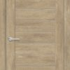 Межкомнатная дверь ПВХ S 28 орех королевский 1