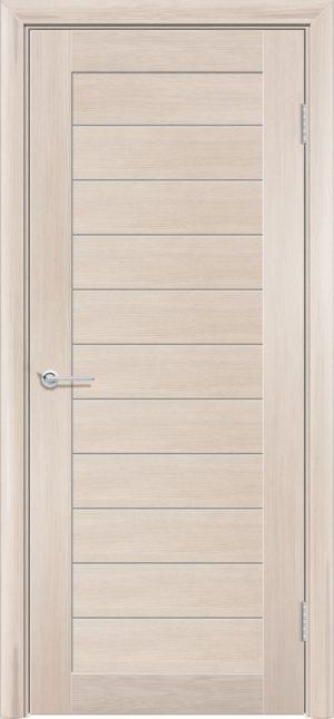 Межкомнатная дверь ПВХ S 7 лиственница кремовая 3