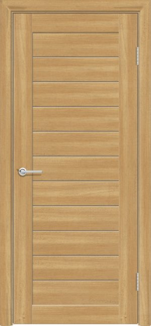 Межкомнатная дверь ПВХ S 7 лиственница золотистая 1
