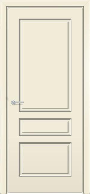Межкомнатная дверь эмаль Б 14 бежевая 3