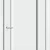Межкомнатная дверь эмаль Б 8 белоснежная 2