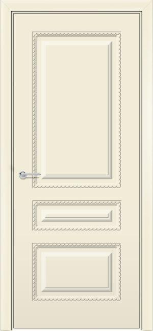 Межкомнатная дверь эмаль Б 2 бежевая 3