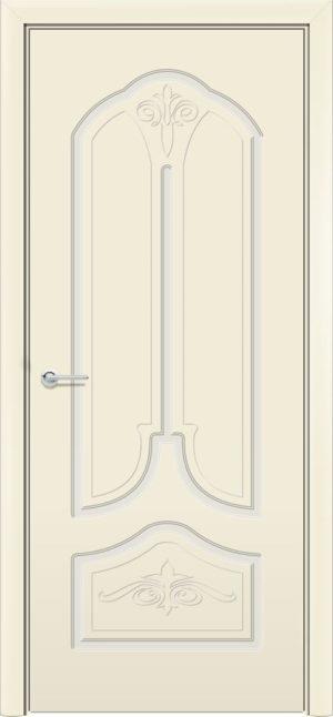 Межкомнатная дверь эмаль Б 20 белоснежная 3