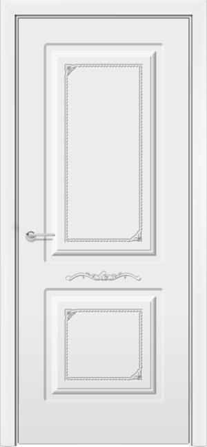 Межкомнатная дверь эмаль Б 3 белоснежная 3