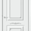 Межкомнатная дверь эмаль Б 22 бежевая патина золото 2