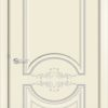 Межкомнатная дверь эмаль Б 13 белоснежная 2