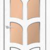 Межкомнатная дверь ПВХ Глория светлый орех 2