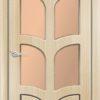 Межкомнатная дверь ПВХ Престиж светлый орех 1