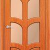 Межкомнатная дверь ПВХ Альфа итальянский орех 2