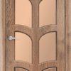Межкомнатная дверь ПВХ Стрела миланский орех 1