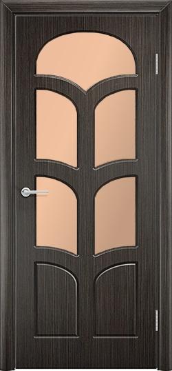 Межкомнатная дверь ПВХ Альфа венге 1