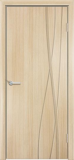Межкомнатная дверь ПВХ Богемия белёный дуб 3