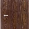 Межкомнатная дверь ПВХ Елена 3 итальянский орех 1