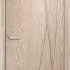 Межкомнатная дверь ПВХ Элегия белёный дуб 1