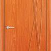Межкомнатная дверь ПВХ Флора темный орех 1