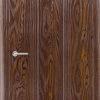 Межкомнатная дверь ПВХ Ладья белёный дуб 1