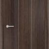 Межкомнатная дверь ПВХ Юлия темный орех 1
