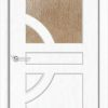 Межкомнатная дверь ПВХ Веста 2 белёный дуб 1
