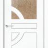 Межкомнатная дверь ПВХ Стиль 2 белёный дуб 2