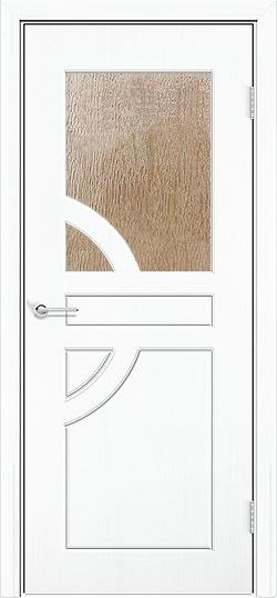 Межкомнатная дверь ПВХ Елена белый 3