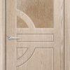 Межкомнатная дверь ПВХ Лилия темный орех 1
