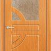 Межкомнатная дверь ПВХ Водопад дуб шоколадный 1
