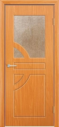 Межкомнатная дверь ПВХ Елена миланский орех 3