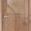 Межкомнатная дверь ПВХ Гладкое итальянский орех 2