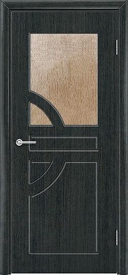 Межкомнатная дверь ПВХ Елена венге патина 3