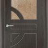 Межкомнатная дверь ПВХ Юлия белая патина 1