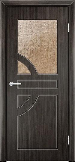 Межкомнатная дверь ПВХ Елена венге 3