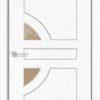 Межкомнатная дверь ПВХ Стиль 2 дуб шоколадный 1