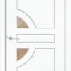 Межкомнатная дверь ПВХ Милано итальянский орех 2