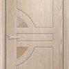 Межкомнатная дверь ПВХ Стиль 4 миланский орех 1